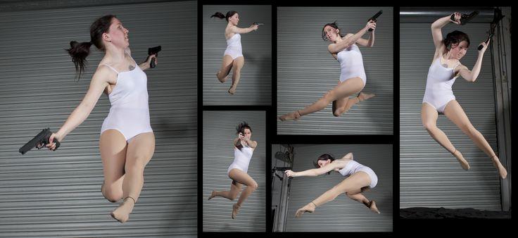Female Gun Pack 3 - Pose Reference by *SenshiStock on deviantART