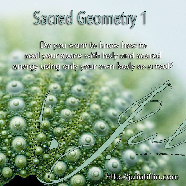 Do you want to learn the language of God? Do you want to learn how to align your mind with the frequencies of creation? Do you want to know how to seal your space with holy and sacred energy using only your own body as a tool? Learn Sacred Geometry 1. juliatiffin.com #returntothesacred