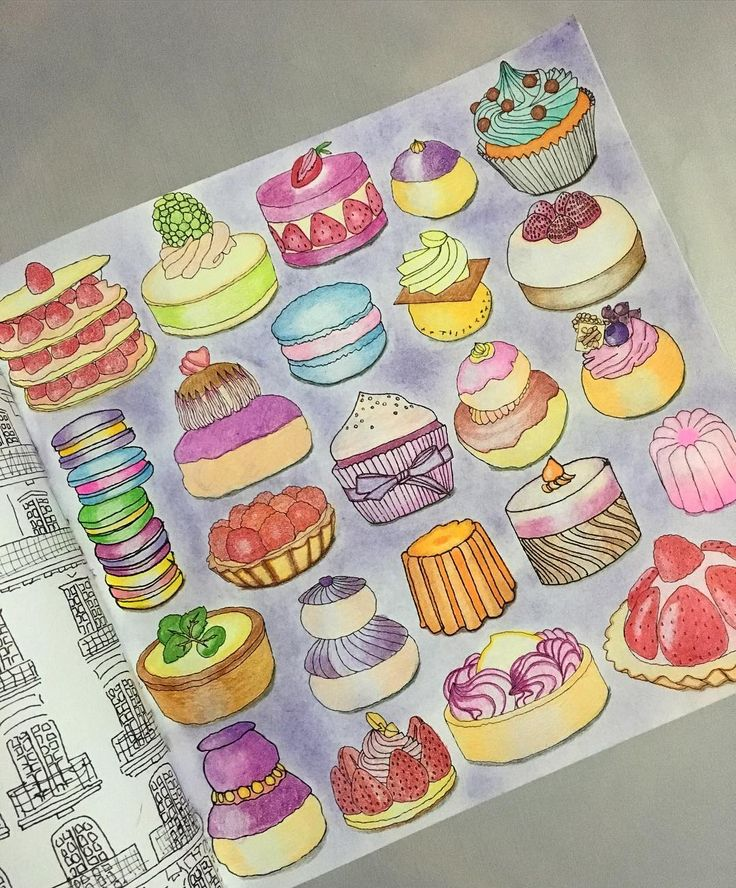 Completed Secretparis Zoedelascases Coloringbook Coloriage Colleen Masterart Coloredpencils