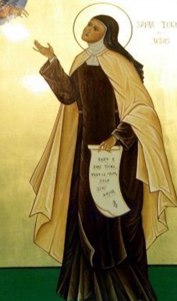 santa teresa de jesus biography god