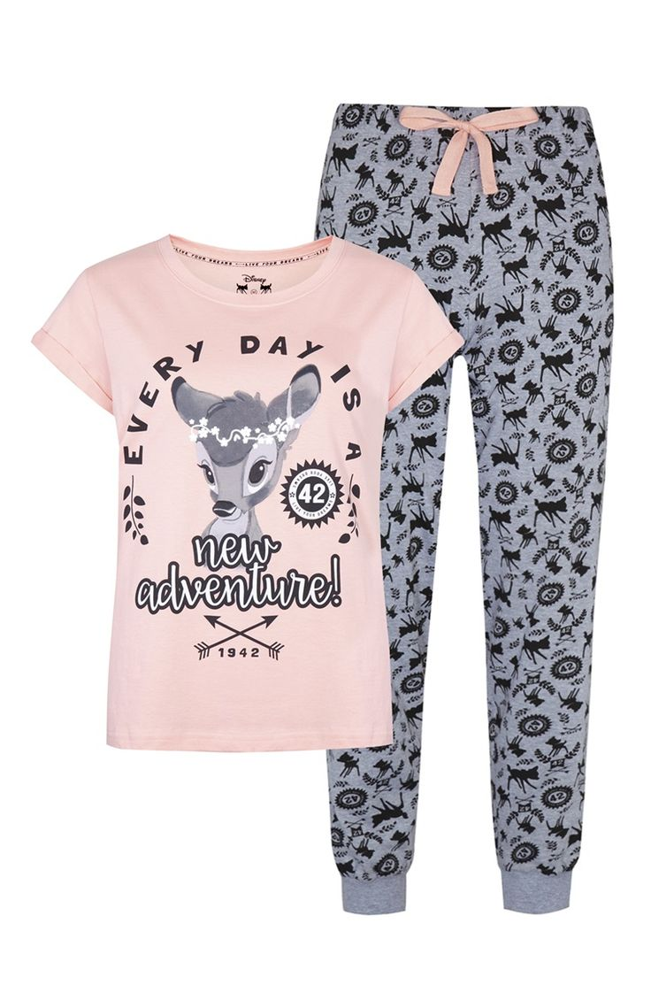 *PRIMARK || | 'Bambi' pink pajamas | Pijama rosa de 'Bambi'