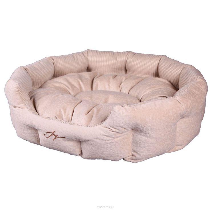 <b>Лежак для животных JOY</b> Лежанка круглая 70х55х22см для собак ...