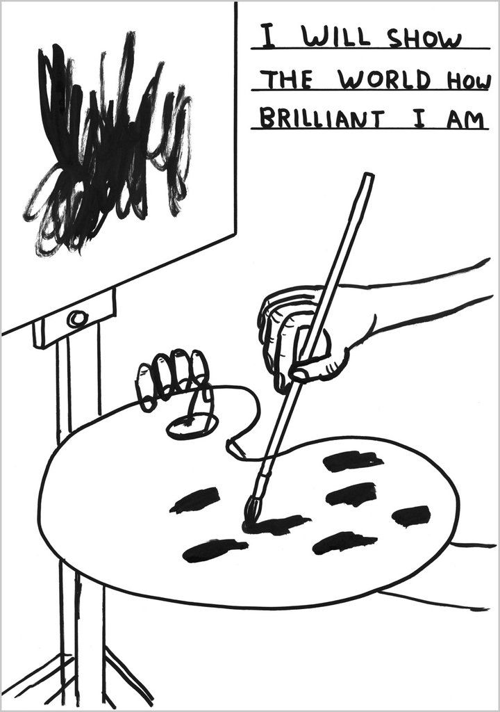 Food Matters | David Shrigley Puts His Twisted Spin on the Interior of the London Restaurant Sketch