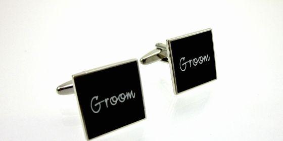 Mens Wedding Cufflinks - Groom. Find it at www.giftedmemoriesjewellery.com.au