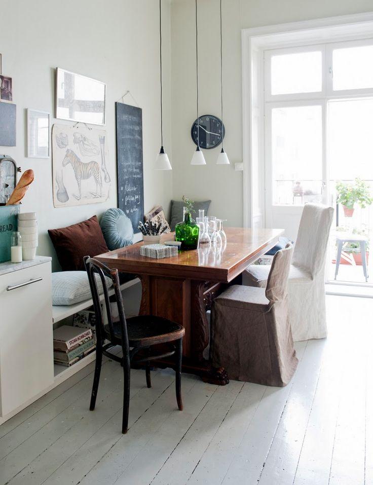 Die besten 25+ Küchenstuhlkissen Ideen auf Pinterest Sitzkissen - esszimmer mit eckbank