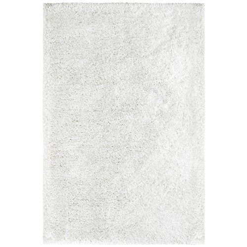 My Touch Me Handmade Shag White Rug Obsession Rug size