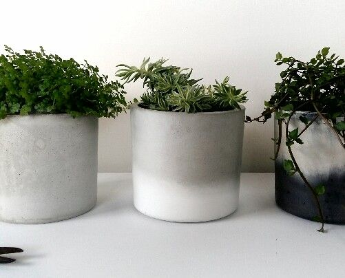 Concrete planters | Made by FUME