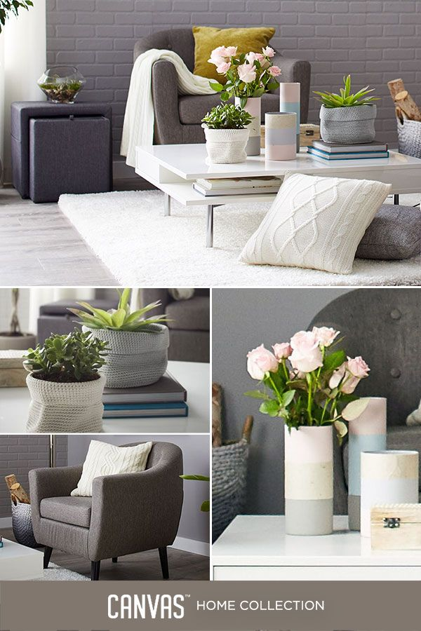 Small accents can have a huge impact. Personalize your home with beautiful CANVAS accessories. #MyCANVASstyle