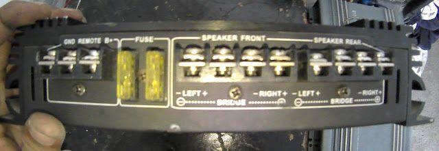 car amplifier audiobose v12
