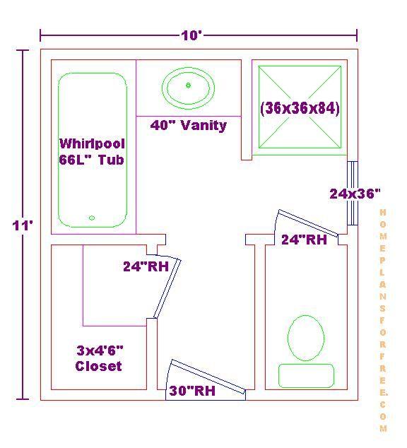 13 X Master Bathroom Floor Plan Trend Home Design And Decor