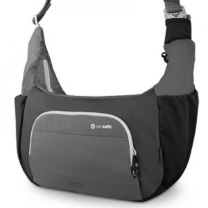 This is such a cool camera bag: it doesn't look like a camera bag yet carries your gear safely and is easily accessible. Perfect for walking around with your camera and lenses. #PacsafeHolidays