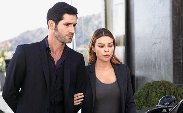 Tom Ellis and Lauren German - Lucifer TV Series