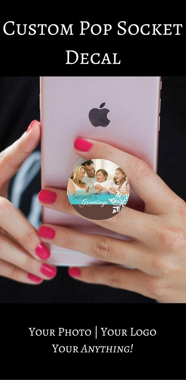 promo code 56dc5 8bdd5 Custom Photo | Pop Socket Decal |Available | Popsocket Sticker ...