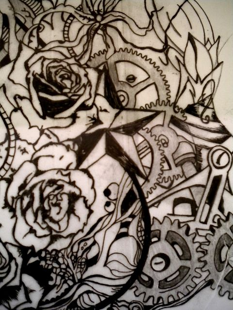 VJ VON ART Tattoo Designs    www.facebook.com/VJVONART   Twitter: @VJVonArt    Please get in touch should you want to commission me to do a tattoo design for you. Contact me on vj.von.art@gmail.com     Very unusual and very cool tattoo sleeve... www.thetattoofanatic.com
