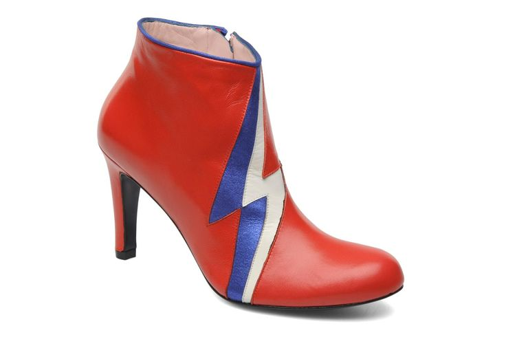 Misfit Annabel Winship (Rouge) : livraison gratuite de vos Bottines et boots Misfit Annabel Winship chez Sarenza