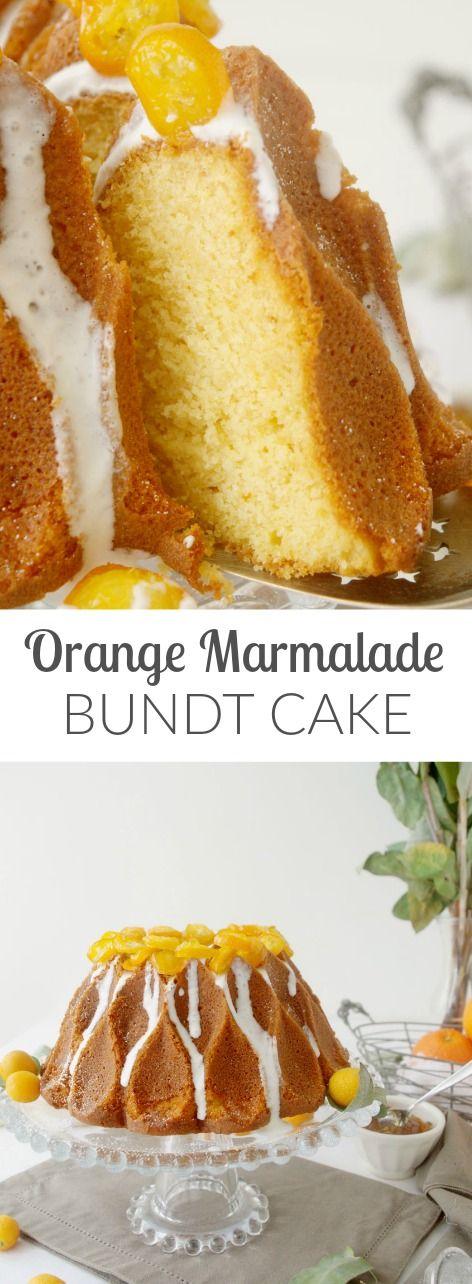 ORANGE MARMALADE BUNDT CAKE - BIZCOCHO BUNDT DE MERMELADA DE NARANJA (English recipe included) Orange season- ready for taking vitamins naturally? In Patty's Cake