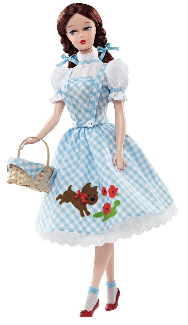 Amazon.com: Barbie Collector Wizard of Oz Dorothy Doll: Toys & Games