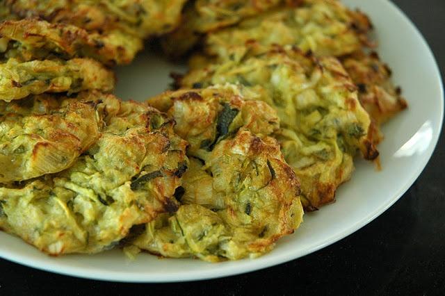 Kabak Mucver - Squash (Zucchini) Fritter