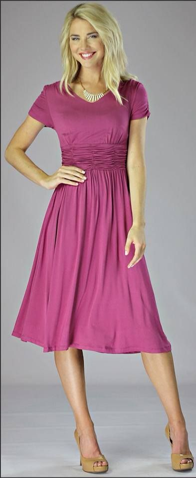 Modest fashionable dresses for women