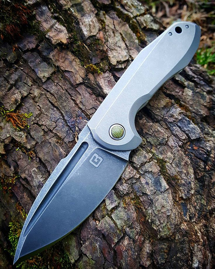 """""""Thick oddity Fuller opening Green micarta pivot inlay, collor and backspacer Im in love with this little Knife"""""""