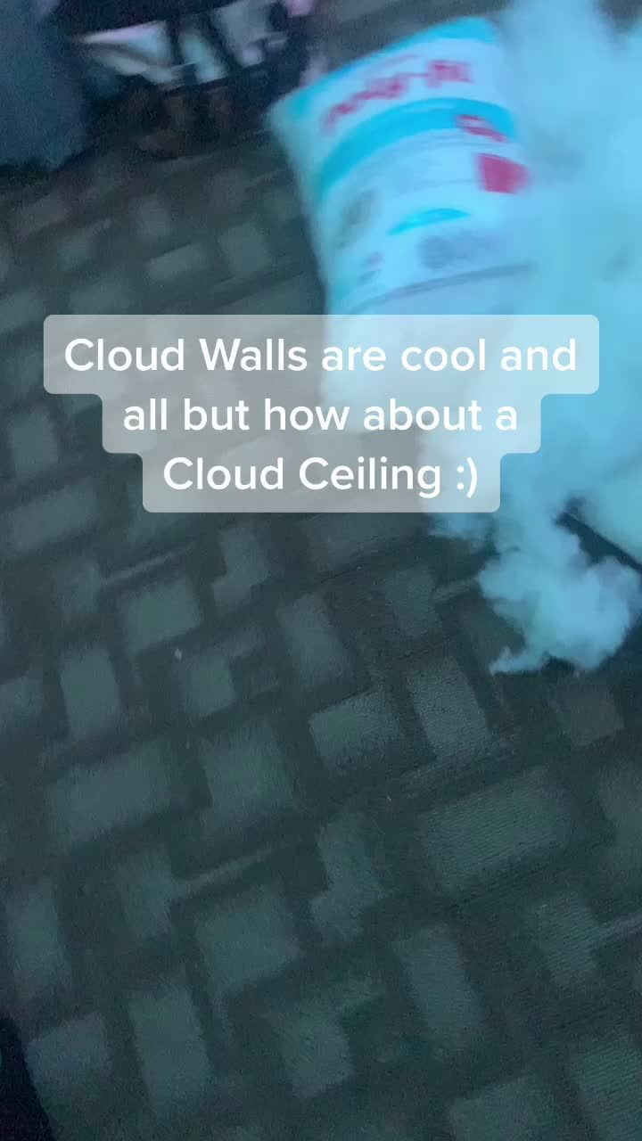 Jess N Brito11 Jess N Brito11 On Tiktok This Took So Long To Do But The Outcome Was Worth It Cloudwall Cloudceiling Fyp Viral