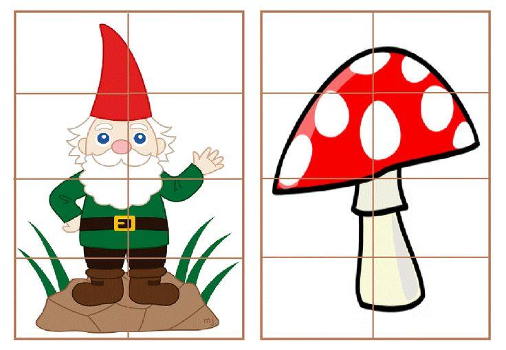 * Puzzelen: In het bos...5-5