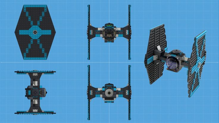Lego Tie Fighter by purepitch72