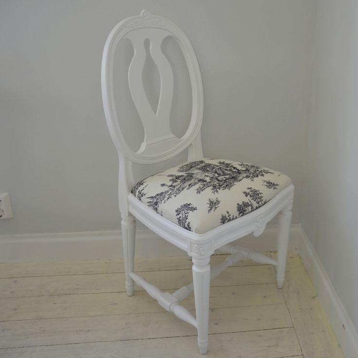 Vacker stol i svenska modellen