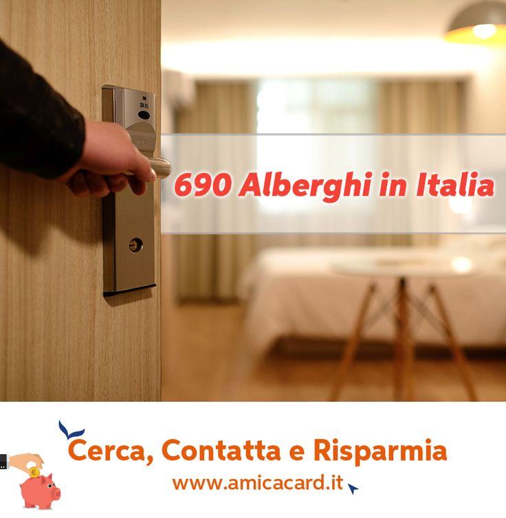 LA #VACANZA INIZIA DALLA SCELTA DELL'ALBERGO GIUSTO, TROVALO ORA SU WWW.AMICACARD.IT E #RISPARMIA. In pochi click puoi selezionare l'Albergo dei tuoi sogni tra oltre 650 strutture alberghiere in #Italia e richiedere #disponibilità e #preventivi con sconti fino al 30%. Cerca ora su AmicaCard.it e contatta l'albergo direttamente dalla piattaforma. #Alberghi #Weekend #Hotel #Relax #Vacanza #Amicacard #Contactserviceamicacard #Convenzioni #Sconti #Risparmio