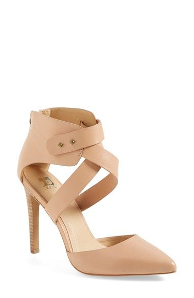 neutral strappy heel from @nordstrom