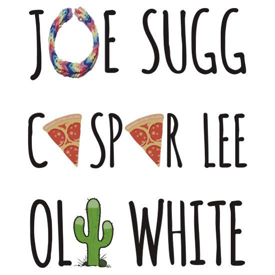 JASPOLI - Joe Sugg, Caspar Lee & Oli White