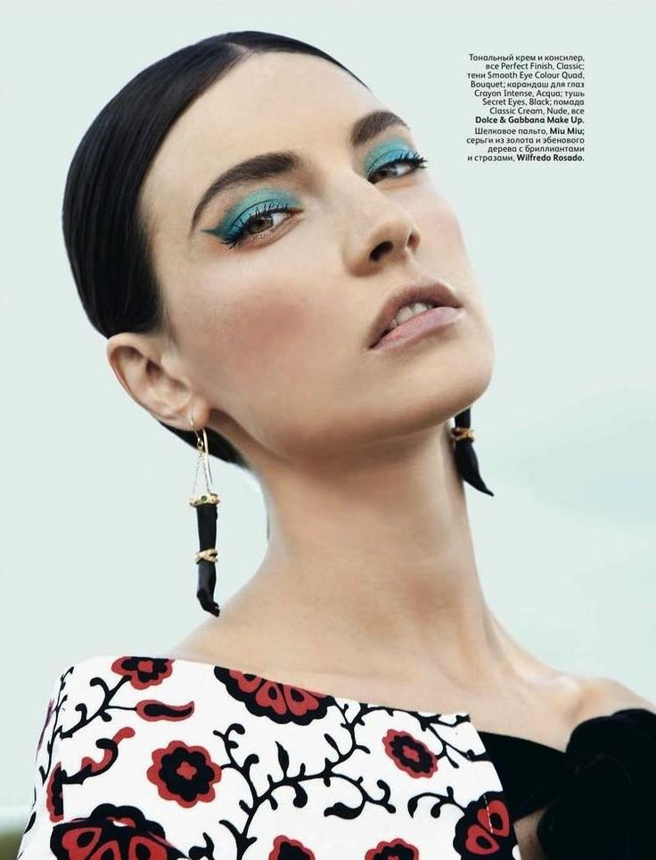Jacquelyn Jablonski - Vogue Russia - Beauty (June 2012)
