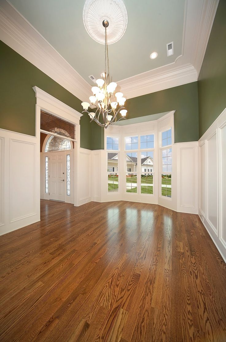 Tall wainscoting dining room - I Love This Tall Wainscoting