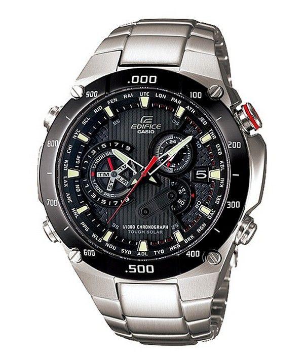 Casio Tough Solar Edifice EQS-1100DB-1AV EQS-1100DB-1 Mens Watch 1