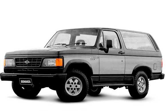 Conheca Os Dados Tecnicos Do Chevrolet Bonanza 4 0 Turbo 1992 Consumo Potencia E Mais Suv Carros Esportivos Antigos Carros