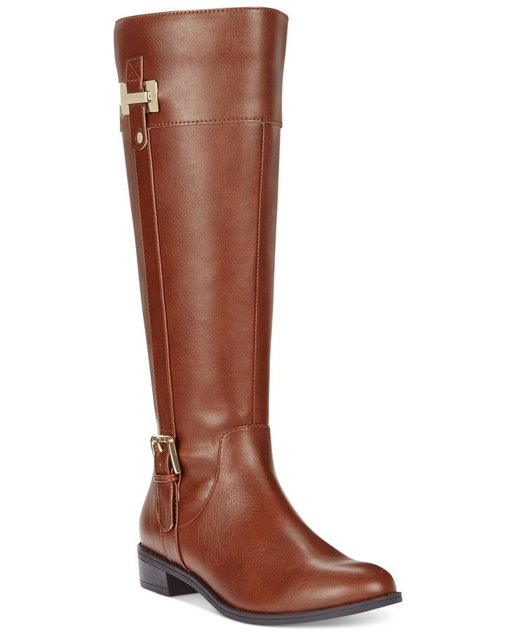 Macys! $80 Karen Scott Deliee Wide Calf Riding Boots - Boots - Shoes - Macy's