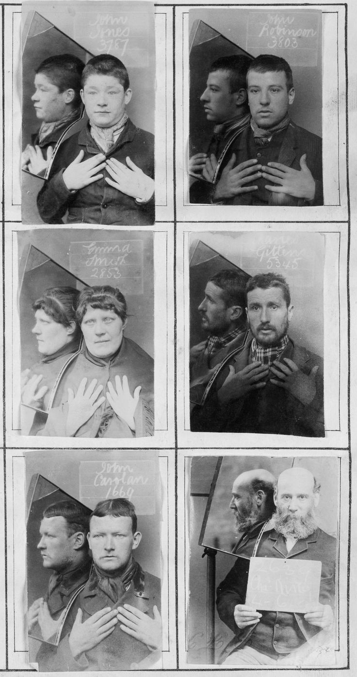 The vintage mugshots of shoplifters bank robbers and murderers from - Some Of The World S First Mugshots Included The Subjects Hands