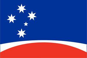 Mark Tucker flag (1993) #Ausflags