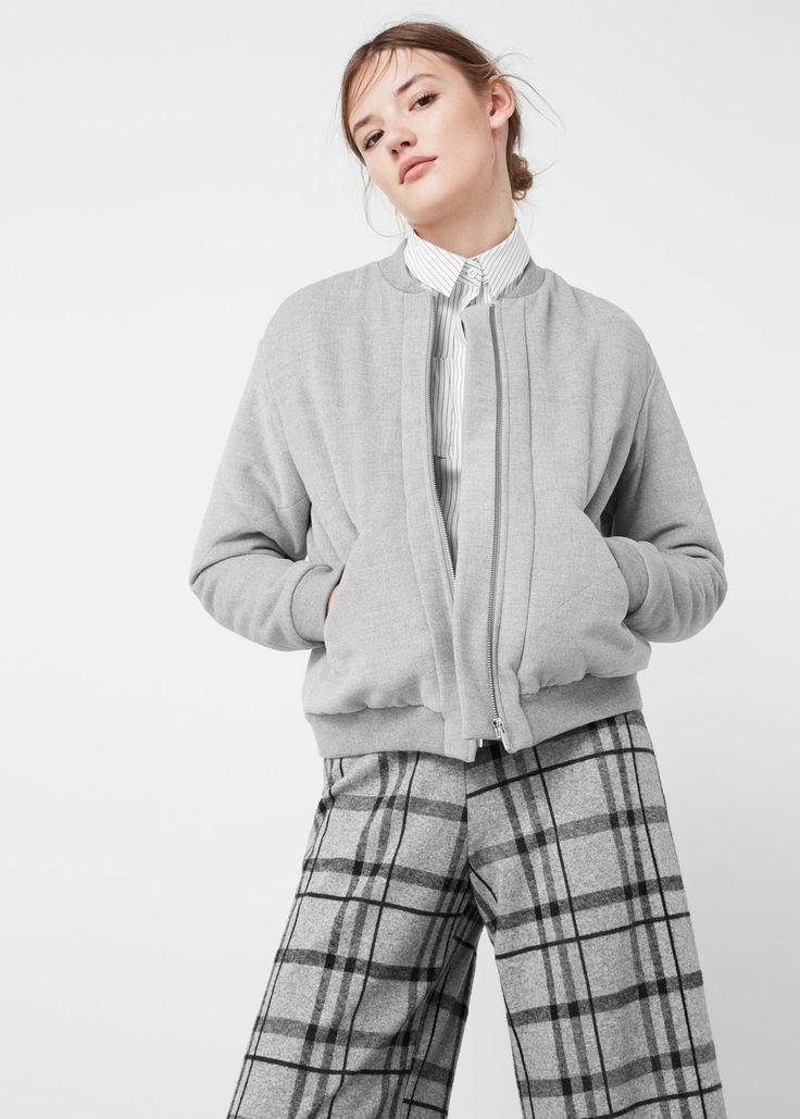 Gesteppte bomberjacke - Jacken für Damen | MANGO Deutschland