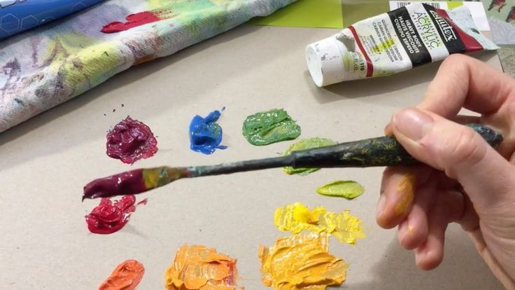 Color wheel paint mixing: Primary colors, secondary colors, analogous co...