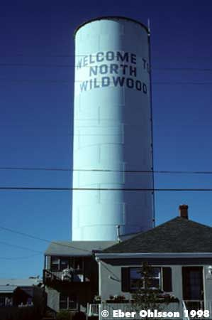 North Wildwood Water Tower,NJ