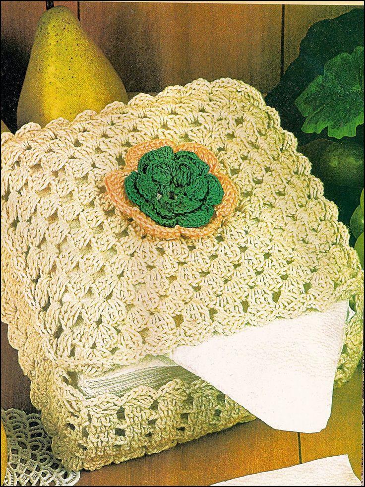 Porta-guardanapos de croche   voce cria as caixinhas de varias cores e abusa no   complemento de flores, borboletas, fitas, sianinhas, etc...