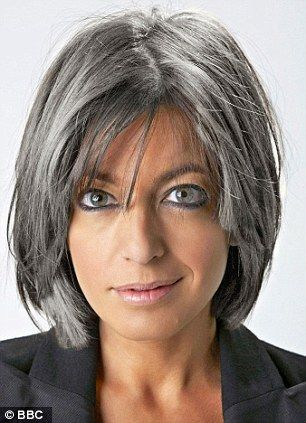 Fiona Bruce is right about going grey being bad for women on TV, says Miriam O'Reilly | Mail Online