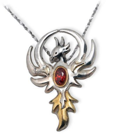 Phoenix Gem Sterling Silver Crystal Pendant Necklace Eastgate. $64.00. comes gift boxed, ships immediately. genuine Swarovsky crystal, .925 sterling silver, includes chain. lifetime warranty, satisfaction guaranteed