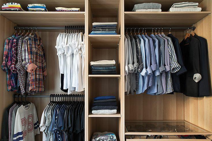 Garderob kläder - The Man Closet