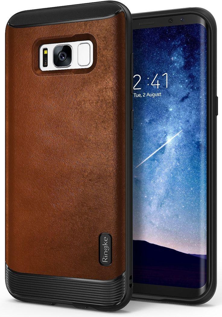 Ringke Flex Case For Samsung Galaxy S8 Plus - Brown  #agorashopgr #Ringke #Samsung_Galaxy_S8 #Premium_Case #Leather_Case
