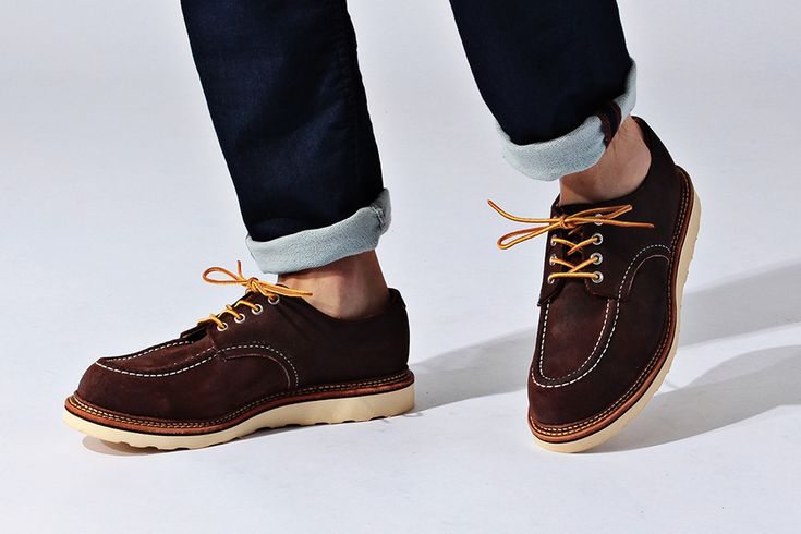 FREE & EASY X RED WING - F/W 2015 - WORK OXFORD SHOES • Guillotine