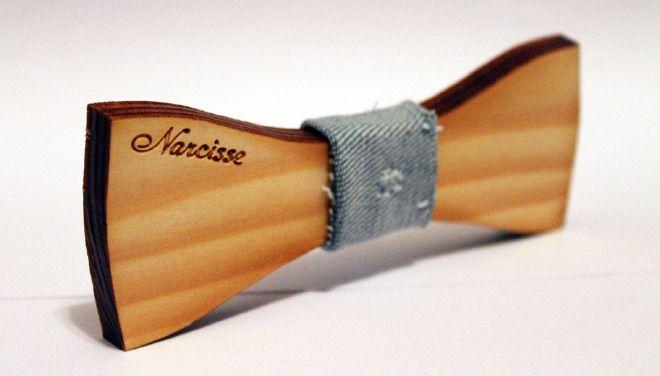 Mousse - Papillon in legno