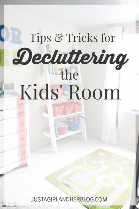 Decluttering the Kids' Room | JustAGirlAndHerBlog.com