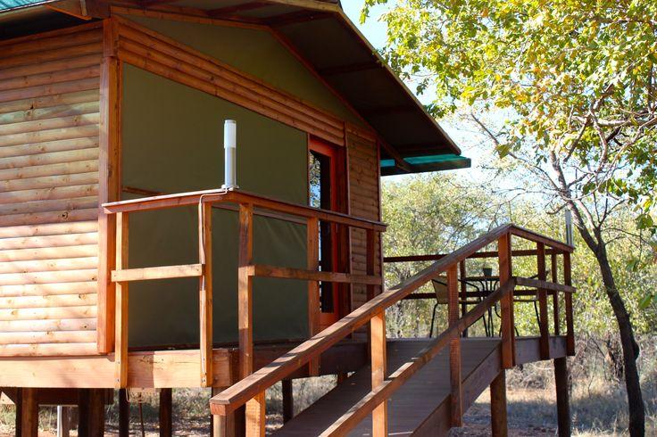 THE ORANGE CHALET - SAFARI HOLIDAYS IN SOUTH AFRICA  DIMA BUSH CAMP